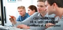 Informativni dan Fakultete za industrijski inženiring na CDI Univerzum